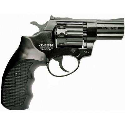 """Револьвер под патрон Флобера Profi 3"""" пластик/черный. Zbroia Profi 3""""."""