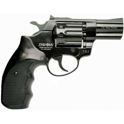"""Револьвер под патрон Флобера Profi 3"""" пластик/черный. Zbroia Profi 3""""., фото 2"""