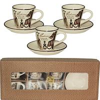 Сервиз кофейный 12 пр. Fashion SNT 1533-06