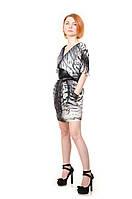 Платье с принтом Lafer