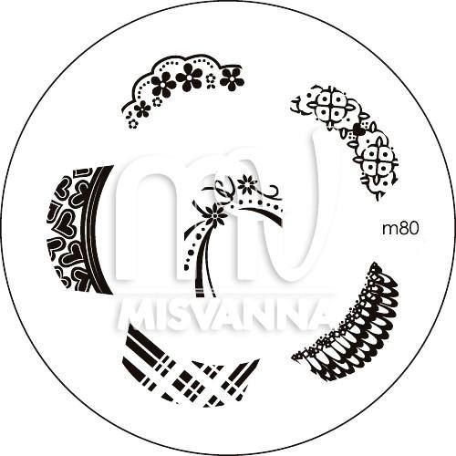 Пластина (диск) для стемпинга,m80