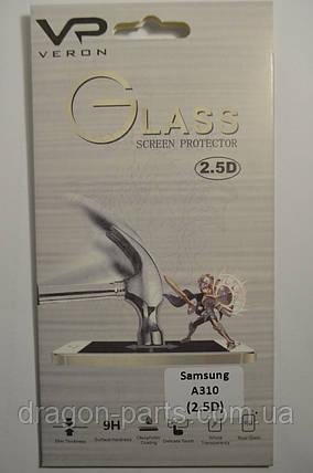 Защитное стекло Samsung A310 galaxy A3, фото 2