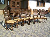 Стіл столовий + 6 стільців ЛЮКС (2864)