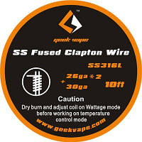 Готовая намотка SS Fused Clapton Wire