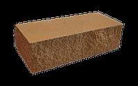 Цегла колота мармур двостороння світло-коричнева