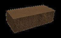 Цегла колота тичкова мармур темно-коричнева