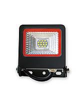 Уличный LED прожектор EuroLamp Вlack new 10 Вт 900 Лм (6500K) светодиодный IP65