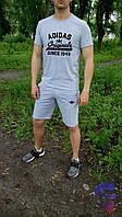 Спортивный костюм комплект мужской шорты и футболка Adidas originals Адидас