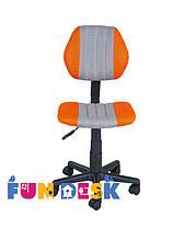 Детское компьютерное кресло FunDesk LST4 Orange-Grey, фото 3