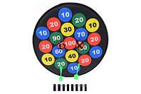 Дартс с мячиками 36*36 см. /144-2/