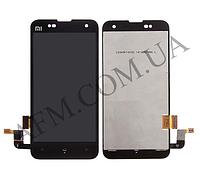 Дисплей (LCD) Xiaomi Mi2/  Mi2S с сенсором черный
