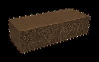 Цегла колота мармур темно-коричнева