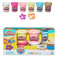 Набор для лепки  Play-Doh Конфетти, 6 баночек