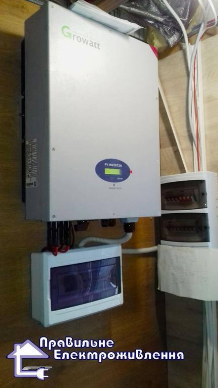Мережева електростанція 5 кВт м. Лубни 1