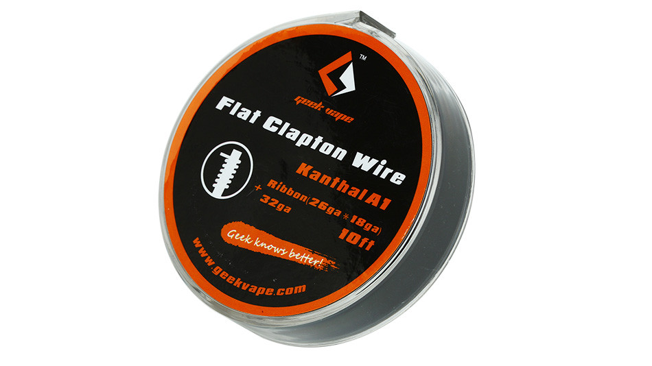 Готовая намотка SS Flat Clapton Wire