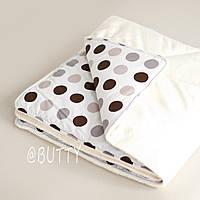 """Конверт-одеяло  для новорожденных """"Brown dots"""""""