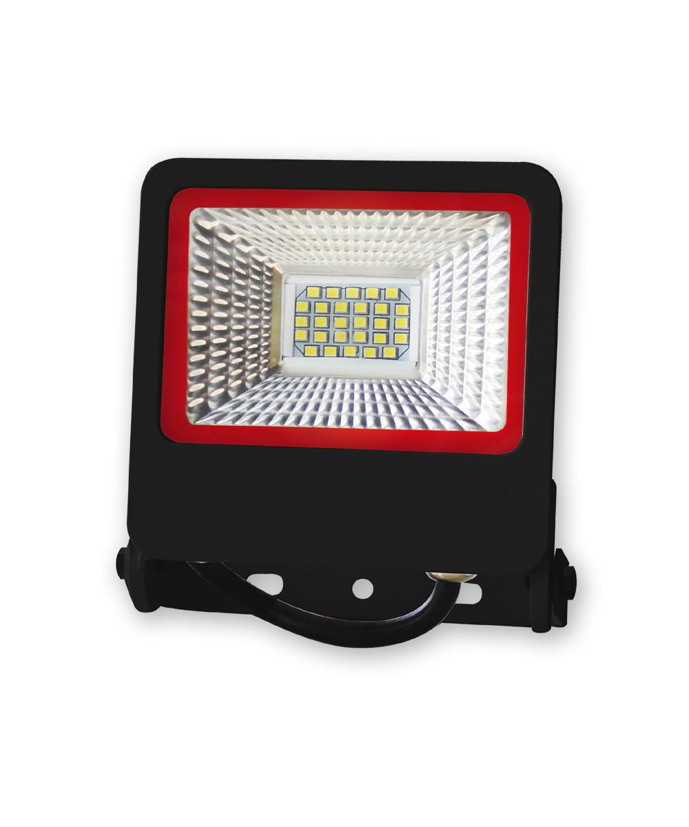 Уличный LED прожектор EuroLamp Вlack 20 Вт new 1800 Лм (6500K) светодиодный IP65