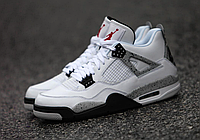 "Nike Air Jordan 4 Retro ""White/Cement"""