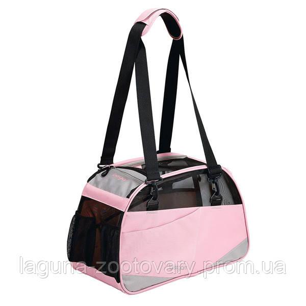 Bergan Voyager Comfort Carrier сумка переноска 48х33х25см для собак и котов, L, розовый