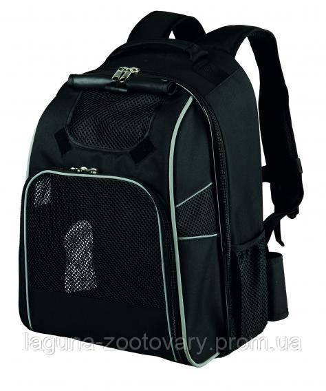 """Рюкзак""""William"""" для переноски собак и кошек до15кг, 33 × 43 × 23 cм, чёрный"""