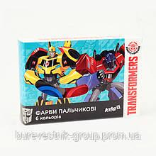 Краски пальчиковые Kite Transformers (TF17-064)