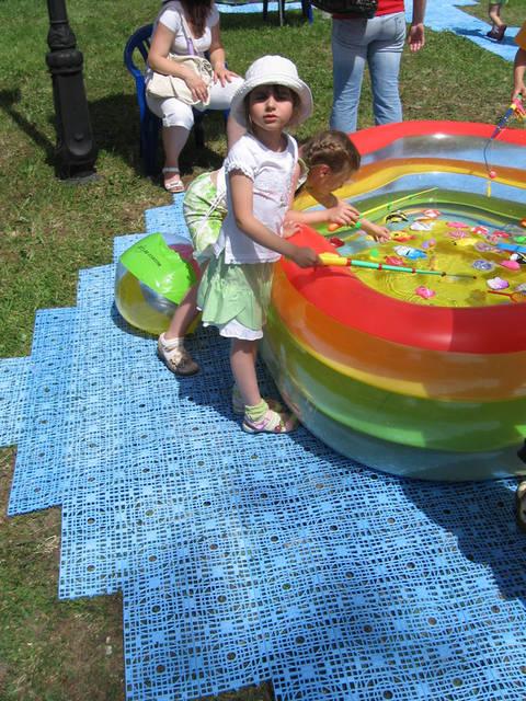 Настил для детских бассейнов