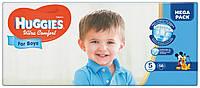 Подгузники Huggies Ultra Comfort для мальчиков 5 (12-22 кг) 56 шт.