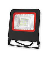 Уличный LED прожектор EuroLamp Вlack new 50W 4500 Лм (6500К) светодиодный IP65