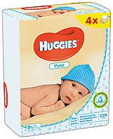 Салфетки влажные Huggies Pure Quad 56 х 4 шт.