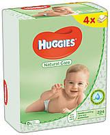 Салфетки влажные Huggies Natural Care Quad 56 х 4 шт.