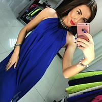 609982fce438396 Платье нарядное, ткань двойной Шифон, Черный, красный, электрик, персик,  молоко