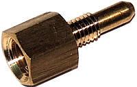 Форсунка запальная латунная колонок Electrolux, Vaillant, код сайта 0608