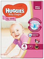 Подгузники Huggies Ultra Comfort 4  для девочек 17 шт.