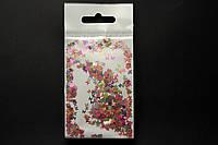 Камифубики (бабочки) для дизайна ногтей микс цветов подвес