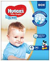 Подгузники Huggies Ultra Comfort Box 4 для мальчиков 96 шт.
