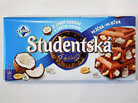 Шоколад Studentska с кокосом 180г, фото 1