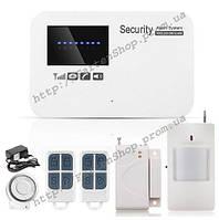 Комплект беспроводной сигнализации Alarm GSM G02(пластиковый пульт)