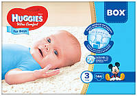 Подгузники Huggies Ultra Comfort Box 3 для мальчиков 144 шт.