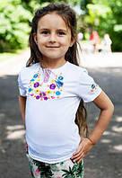 Детская летняя вышиванка для девочки