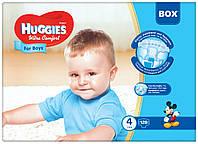 Подгузники Huggies Ultra Comfort Box 4 для мальчиков 128 шт.