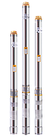 Скважинный насос Euroaqua 90 QJD 122 - 1.1 + контрольбокс