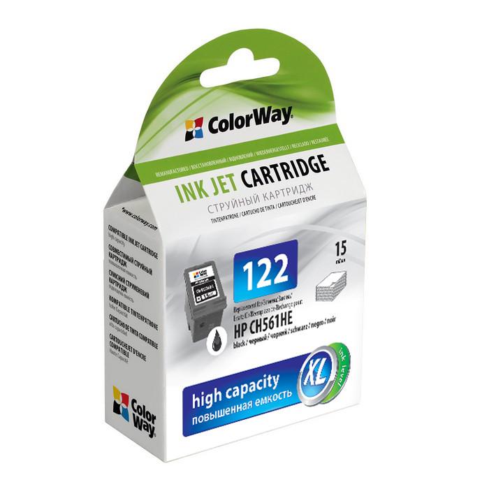 Картридж ColorWay для HP 122 Black (CH561HE)