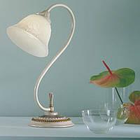 Настольная лампа KOLARZ 204.71 VIENNA ROSE бронза/белый