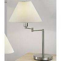 Настольная лампа KOLARZ 264.71.6 HILTON никель
