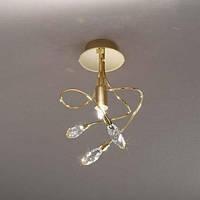 Потолочный  светильник KOLARZ 1307.11M.3 TWISTER MINI золото