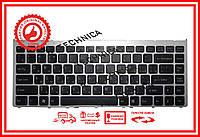 Клавиатура Sony Vaio VGN-FW series черная с серебристой рамкой RU/US