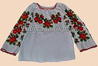 Заготівля жіночої сорочки для вишивки нитками/бісером БС-8, фото 1