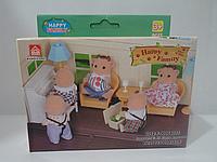 Игровой набор мебели для гостиной | «Happy Family»