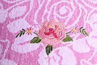 Полотенце  лицевое махровое Розы 50х100