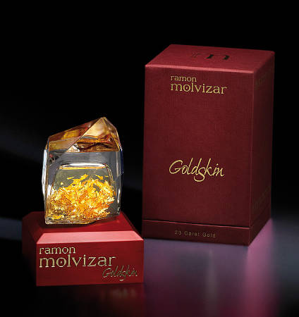 Парфюмированная вода Ramon Molvizar Goldskin 75 ml